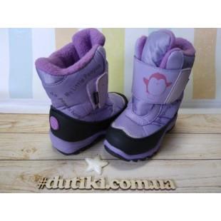 Зимние термо ботинки для девочек Арт: DC4514