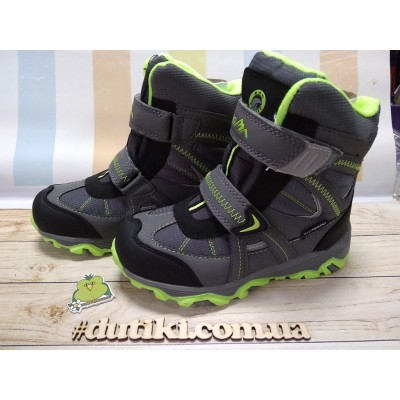 Зимние термо ботинки с мембраной, B&G EVS196-103