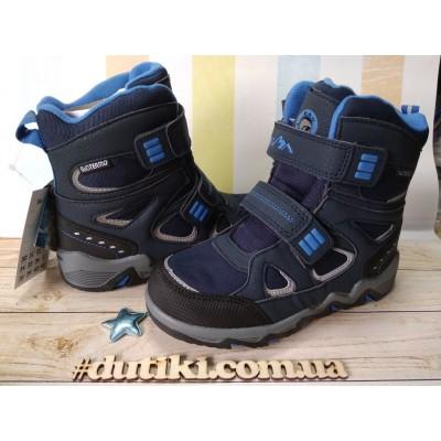 Зимние термо ботинки с мембраной, B&G EVS196-114