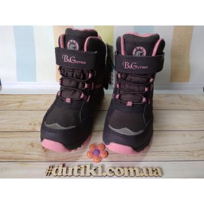Зимние термо ботинки с мембраной, B&G EVS196-116