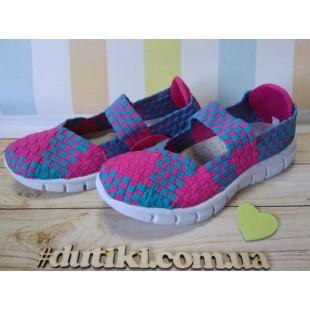 Летние туфли для девочек 32-37рры Арт: F013-5