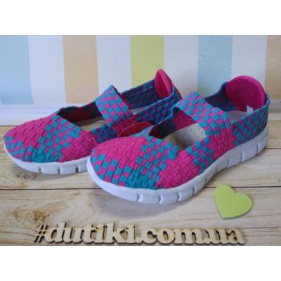 Летние туфли-резинки
