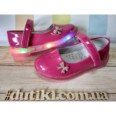 Туфли для девочек, мигалки F23-1