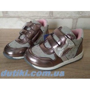 Ботинки-кроссовки для девочек С.Луч Арт: F3407-3