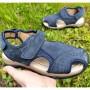 Літні сандалі з натурального нубуку ЕЕВВ, G9809 blue