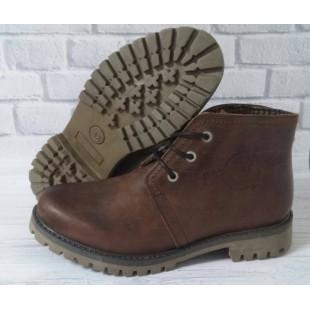 Брендовые ботинки из натуральной кожи Fat company  (Испания)- последняя пара !