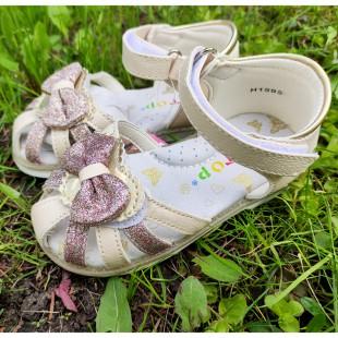 Сандалии для девочек с каблуком Томаса Арт: 25019H