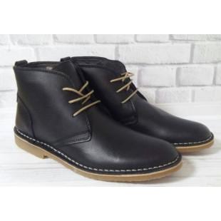 Ботинки из кожи премиум качества, утепл. шерстью (Португалия) Арт: H54/378