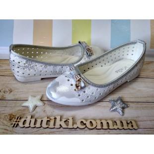 Белые туфли для девочек ТМ W.Niko Арт: H71-3