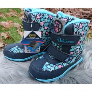 Зимние термо ботинки для девочек мембрана+ термо стелька Арт: HL509-791