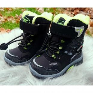 Зимние термо ботинки для мальчиков American Club Арт: 02-44LH