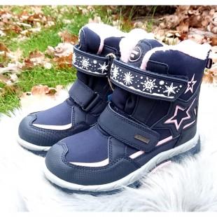 Зимние термо ботинки для девочек American Club Арт: 0254LH