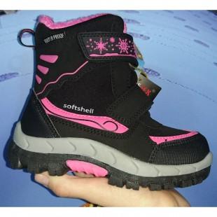 Зимние термо ботинки для девочек American Club Арт: 0264LH