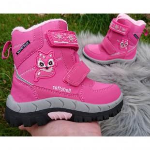 Зимние термо ботинки для девочек American Club Арт: 0274HL