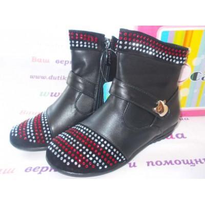 Полусапожки для девочек, ботинки