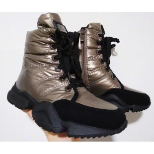 Зимові черевики жіночі, підліткові  Арт: 1552-F660-3