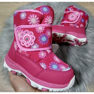 Зимові термо черевики для дівчат мембрана+термо устілка Арт: QK-0917 - последняя пара 23рр!