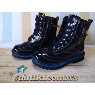 Ботинки для девочек с каблуком Томаса Арт: JSD-0318