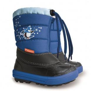 Kenny 2_blue - детские зимние сапоги на овчине