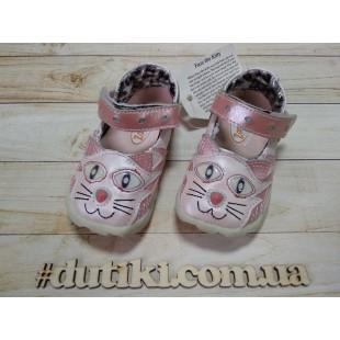 Туфли для девочек из натуральной кожи Арт: Kitty Mary