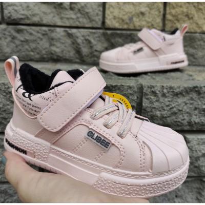 Утеплені кросівки, хайтопи для дівчаток, 902-L pink