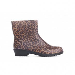 Женские резиновые полусапоги Арт.: Leopard print