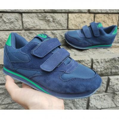 Кросівки для хлопчиків, Clibee 31L blue-green