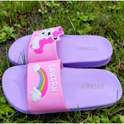 Шльопанці сланці для дівчаток, G3-499L purple