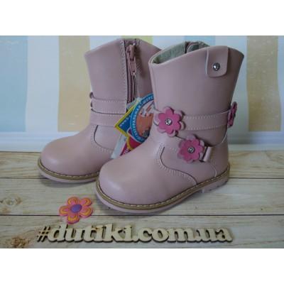 Зимние ботинки из натуральной кожи, LD613-73