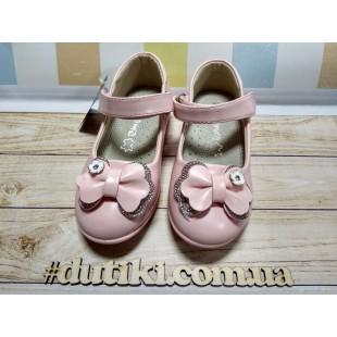 Туфельки для девочек Арт: M31 pink