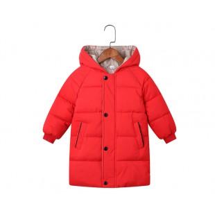 Зимняя куртка- парка для мальчиков и девочек рост 100см / 3T