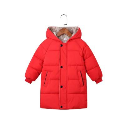 Зимняя куртка- парка для мальчиков и девочек 100