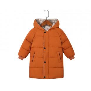 Зимняя куртка- парка для мальчиков и девочек рост 120 см / 6T