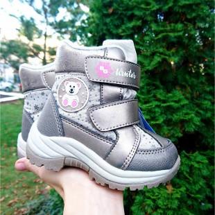 Зимние термо ботинки для девочек мембрана+ термо стелька Арт: HL21-129