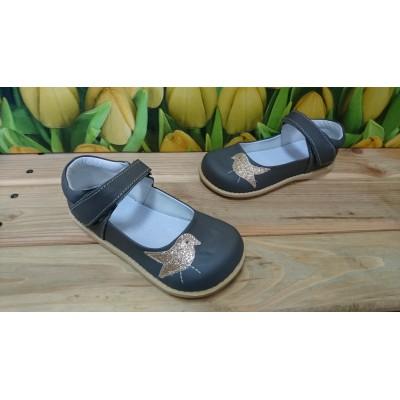 Кожаные туфли для девочек Birds