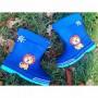 Резиновые сапоги с утеплителем, 202MY blue