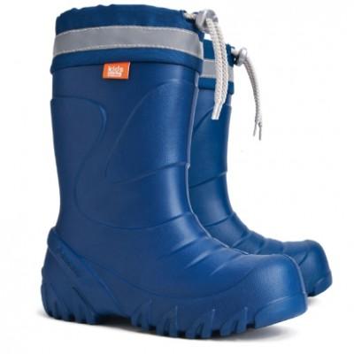 Зимние сапоги на мороз и слякоть, Mammut blue