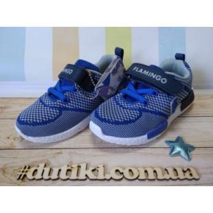 Кроссовки для мальчиков Арт: NQ-0024 grey-blue