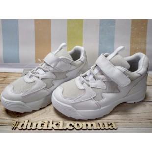 Белые кроссовки для девочек Арт.: 205-24white