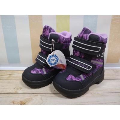 Зимние термо ботинки с мембраной, Flamingo QK-0922