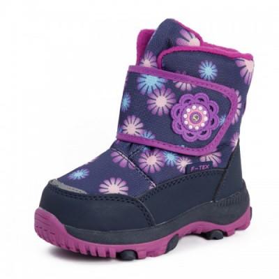 Зимові термо черевики з мембраною, Flamingo  QK-0918