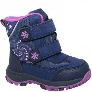 Зимові термо черевики для дівчат мембрана+термо устілка Арт: QK-0919