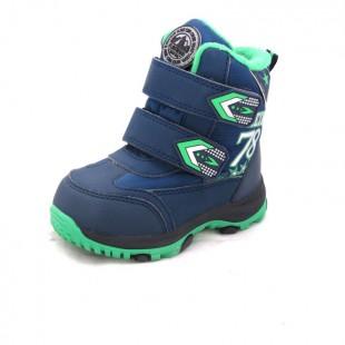 Зимові термо черевики для хлопчиків мембрана+термо устілка Арт: QK-0938