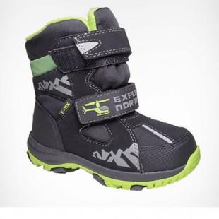 Зимові термо черевики для хлопчиків мембрана+термо устілка Арт: QK-0942