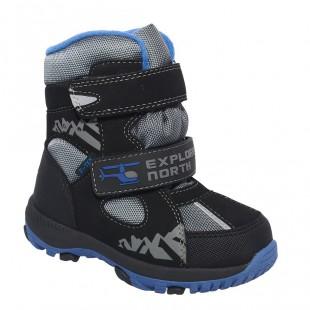Зимові термо черевики для хлопчиків мембрана+термо устілка Арт: QK-0943