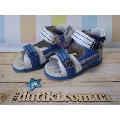 Босоножки для мальчиков - профилактическая обувь QS5716-2