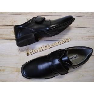 Школьные туфли для мальчиков Арт: QT4777 black