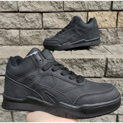 Хайтопи, кросівки для хлопчиків, 3-051R black