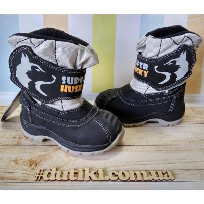 Зимние термо ботинки, R161-3198
