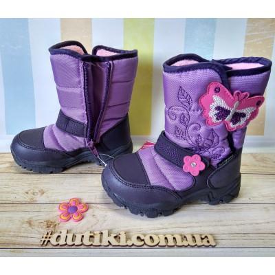 Зимние термо ботинки сапожки, R171-6022